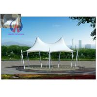 Best Crown Shape Colorful Cover Tensile Fabric Structures Tarp Buildings For Outdoor Sun Shade wholesale