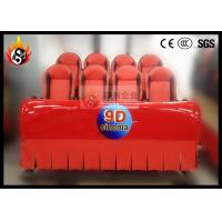 Best 8 Seats Motion Simulator for 5D Movie Theater Equipment with Hydraulic Platform wholesale