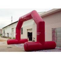Best High Strength Red Custom Inflatable Arch CE / UL Air Blower Easy Operation wholesale
