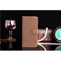Cheap Classic Business Style Luxury Retro Real Genuine Leather Wallet Cell Phone Case for sale