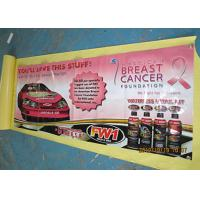 Best Custom Pvc Advertising Banners Outside , Full Color Sports Vinyl Banners wholesale