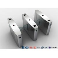 Cheap Stainless Steel Heavy Duty Flap Barrier Gate Automatic Turnstiles For Public Facility for sale