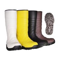 Best PVC Upper Material Safety Rain Boots steel toe rubber boots For Men Black Color wholesale
