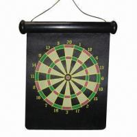 Best Roll-up Magnetic Dart Board with Safety Feature, Ideal for Family Games, Made of NdFeB Magnets wholesale