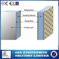 Buy cheap 22KW Corrugated Roofing Sheet Making Machine , 12 Stations Rock Wool Sandwich Panel Machine from wholesalers