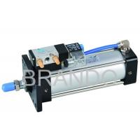 4V Series Aluminum Air Cylinder Valve Double Acting , Cylinder Solenoid Valve