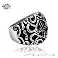 Best Handmade Different Styles Cross Design American Dramas Vampire Ring wholesale