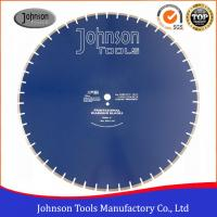 """Best 30"""" Concrete Cutting Saw Blade , Concrete Wall Cutting Saw For Fast Cutting wholesale"""