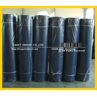 China Textured surface SBR NR sheet;fabric rubber skirting sheet on sale