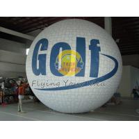 Best White Fireproof reusable inflatable advertising helium balloons for Sporting events wholesale