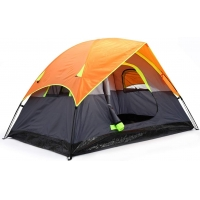 Best Portable PU1000mm 2 Room 2 Person Outdoor Tent For Camping wholesale