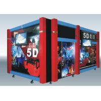 Best Home Hydraulic / Electric Moiton 5D Theater / 7d Cinema Simulator wholesale