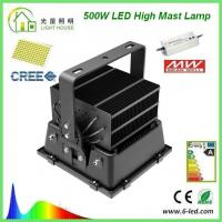 Best Outdoor 600W LED High Mast Lighting CE RoHS , High Mast Poles wholesale