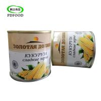 China HACCP Vacuum Package Easy Open Lid Canned Food Canned Sweet Corn Kernel on sale