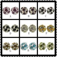 Best Rhinestone Shamballa Beads,Cheap Crystal Pave Beads Wholesale,Many Color Avaliable 10mm wholesale