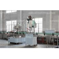 Quality Glass Beer Bottle Capper Machine , High Speed Screw Capping Machine wholesale