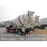 Best forland LHD 4*2 3cbm-4cbm concrete mixer trucks for sale wholesale
