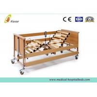 Best Luxury Electric Medical Hospital Beds / Five-Function Home Care Bed by Solid Wood (ALS-HE004) wholesale