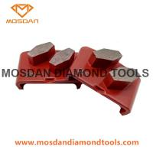Best Premium Quality Concrete Floor HTC Metal bond Diamond Tools with 2 Segments wholesale