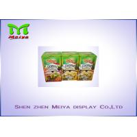 Best Recyclable F flute cardboard retail displays for snack , display cardboard boxes wholesale