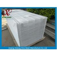 White Color Hot Dipped Wire Mesh Fence With ISO9001 2008 Certificate