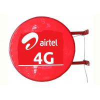 Best Airtel 4G Sign Vacuum Forming Light Box , Telecom Operators Aficia Vodafone Store Sign wholesale