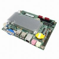 Best 3.5-inch Embedded Industrial Motherboard, Onboard Intel N550 CPU/6 COM Port, Supports VGA/LVDS/Wi-Fi wholesale