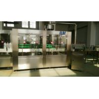 PET / PP Bottle Automatic Water Filling Machine , Pure Water Bottling Equipment