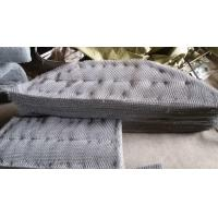 Best SS316 Knitted Wire Mesh  Mister Pad For Condensate Flash Separator wholesale