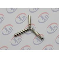 Best Knurling Nickel Plating Turned Metal Parts Lathe Finishing Round Head Copper Pins wholesale
