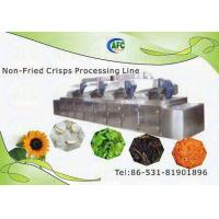 China Nature Fruit Crisps ( Non-Fried) Processing Line on sale
