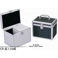 China Lightweight Silver CD And DVD Storage Cases CD Storage Boxes For Home on sale