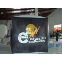 Cheap Reusable durable PVC cube balloon with Full digital printing for Opening event for sale