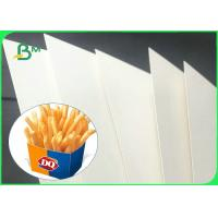 China 350gsm + 15g High Stiffness PE Coated GC1 Paper Board For Making Food Boxes on sale