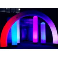 Best Evening Advertising Column Inflatable LED Lamp Customized Logo Printed wholesale