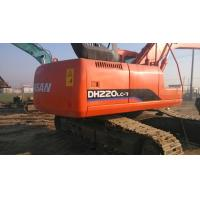 Best $40000 Good used excavator machine DOOSAN DH220LC-7 2009 made, original paint wholesale