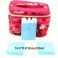Best FDA Approved 230ml Cool Bag Ice Packs For Lunch Bag Cool Box Blocks wholesale