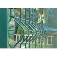 Best Stainless Steel Welded Wire Mesh Panels , Vinyl Pvc Coated Welded Wire Fence wholesale