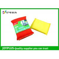 Best JOYPLUS Disposable Dish Washing Pad , Nylon Cleaning Pad High Absorbent wholesale