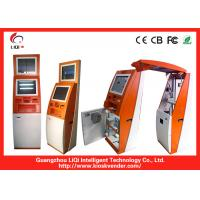 Cheap Multifunction Financial Bill Payment Kiosk With Wi-Fi / Card Reader wholesale