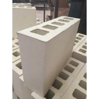 Best Cream Yellow Five Holes Large Hollow Blocks , Hollow Clay Brick Compressive Strength wholesale