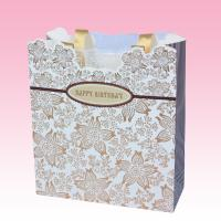 China custom wholesale white kraft paper shopping bags sizes for sale company on sale