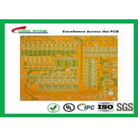 Best Mortherboard Quick Turn Printed Circuit Boards  with Yellow Solder Mask FR4 1.6MM wholesale