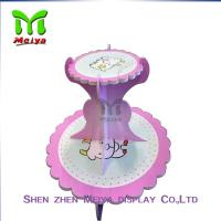 Best Tree Tire  Round Cardboard cupcake display stands / holders wholesale