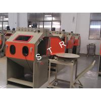China Cabinet Small Sand Blasting Machine / Small Metal Parts Automatic Sandblaster on sale