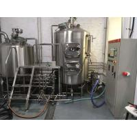 Best Silver Stainless Steel Brewing Equipment , 1000 / 600 / 500 Litre Brewing System wholesale