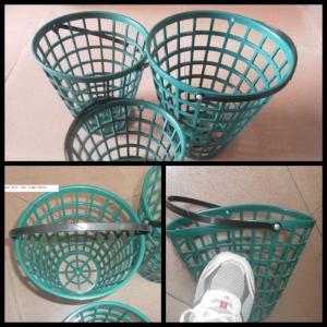 golf ball basket&plastic golf ball basket