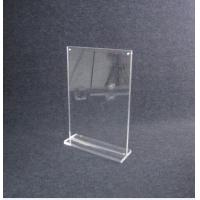 Best COMER Acrylic Display Sheet Board Panel stand for Inserts Tag Brochure, Leaflet, Catalog wholesale