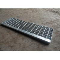 Hot Dip Galvanised Stair Treads , T1 / T2 / T3 / T4 Bar Grating Stair Treads