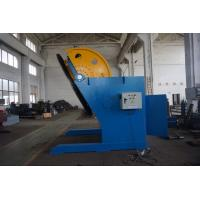 Best Q235 360 Degree Weld Positioners With 1000mm Table And Chuck , Speed Adjust By Inverter wholesale